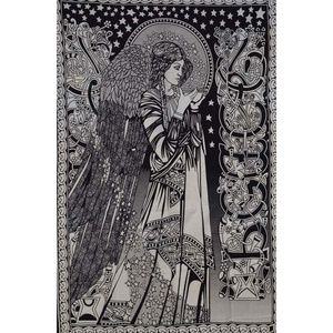 """Other - 54"""" x 86"""" Peace Angel Tapestry"""